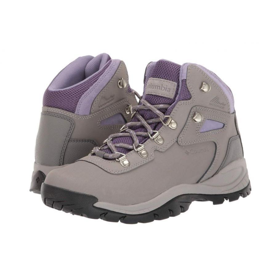 コロンビア Columbia レディース シューズ・靴 ハイキング・登山 Newton Ridge Plus Titanium/Dusty Iris