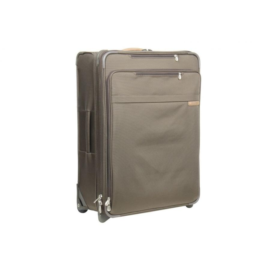 ブリッグスアンドライリー Briggs & Riley レディース スーツケース・キャリーバッグ バッグ Baseline - Large Expandable Upright Olive