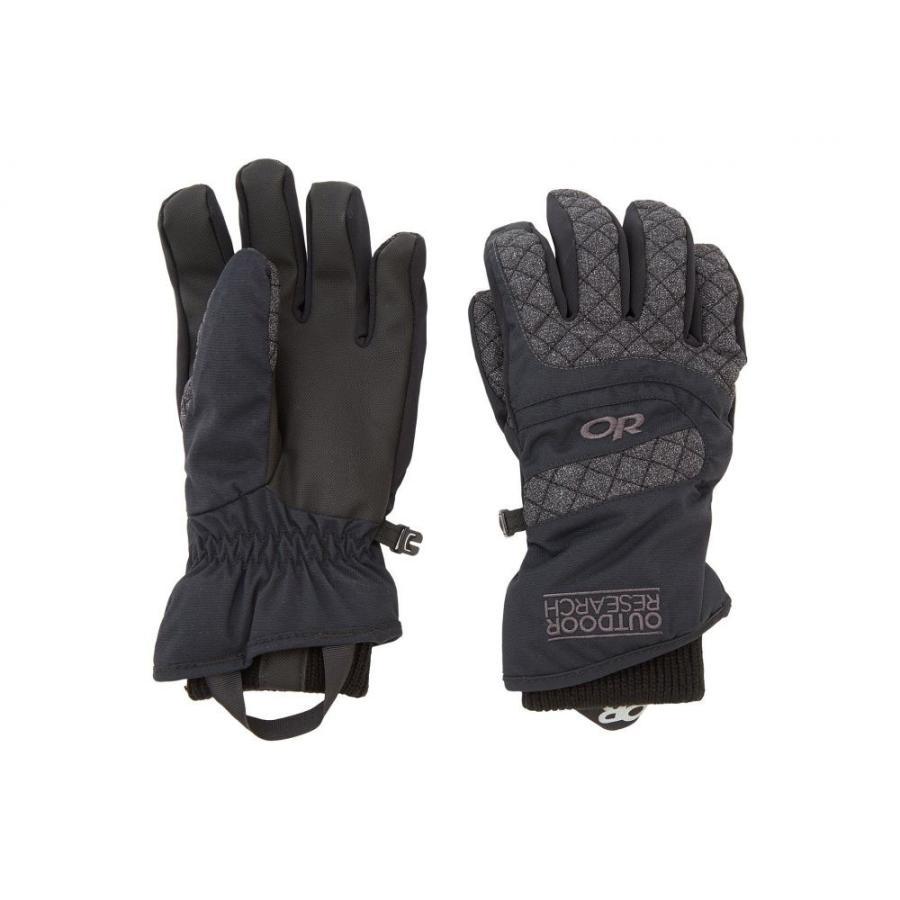 アウトドアリサーチ Outdoor Research レディース グローブ スキー・スノーボード Riot Gloves 黒