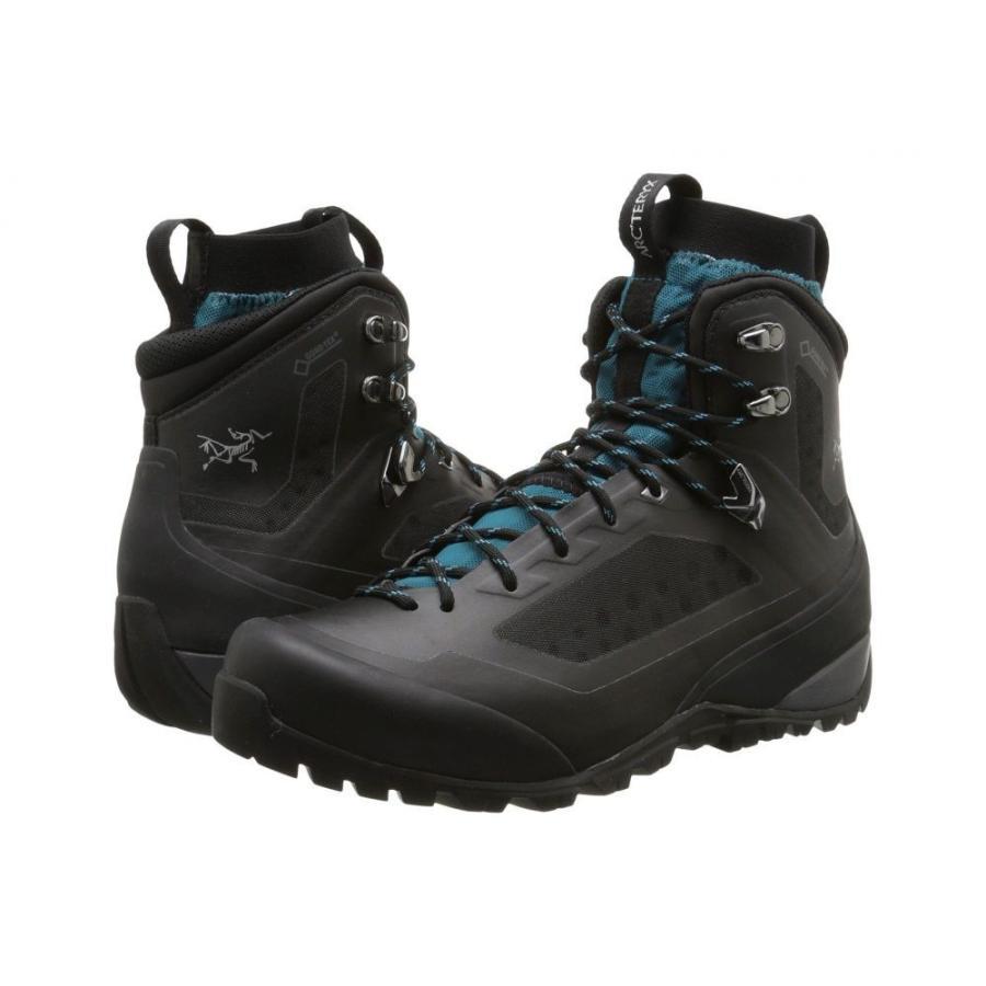 アークテリクス Arc'teryx レディース シューズ・靴 ハイキング・登山 Bora Mid GTX Black/Mid Seaspray