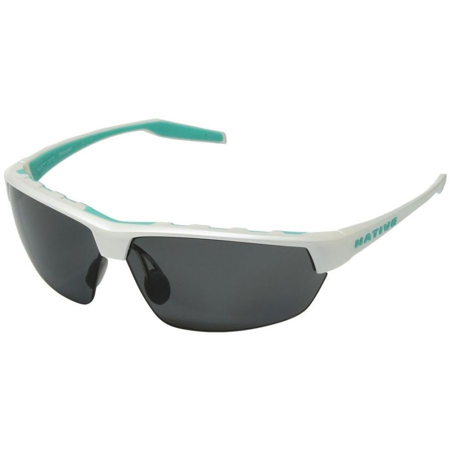 ネイティブアイウェア レディース スポーツサングラス Hardtop Ultra Pearl 白い/Gray Polarized Lens