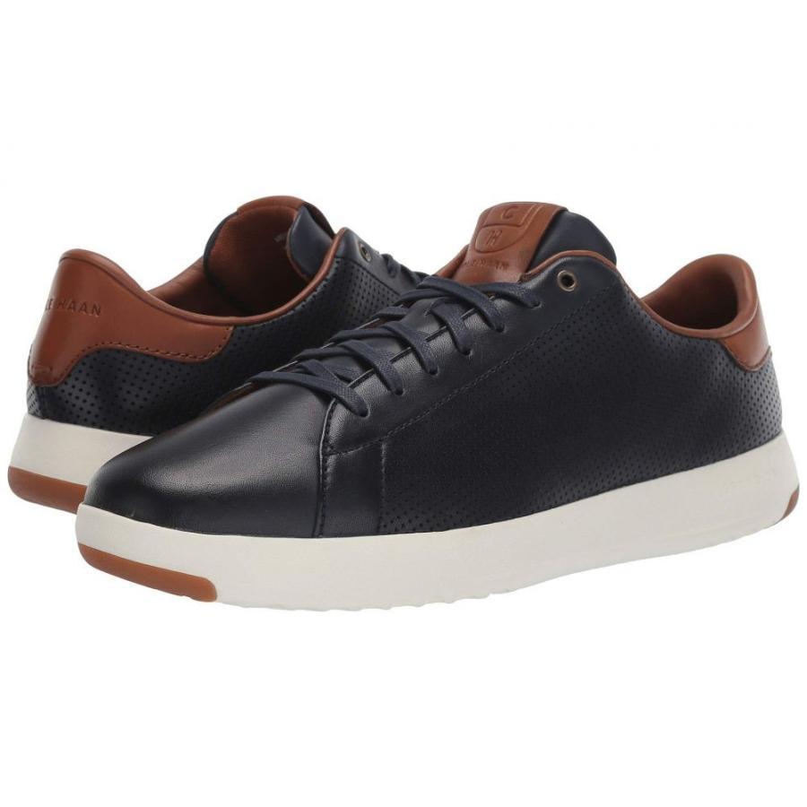 【テレビで話題】 コールハーン Cole Haan メンズ シューズ・靴 テニス GrandPro Tennis Sneaker Navy Handstain Perf, BrandShop Akindo 質屋あきんど 8cdeacf1