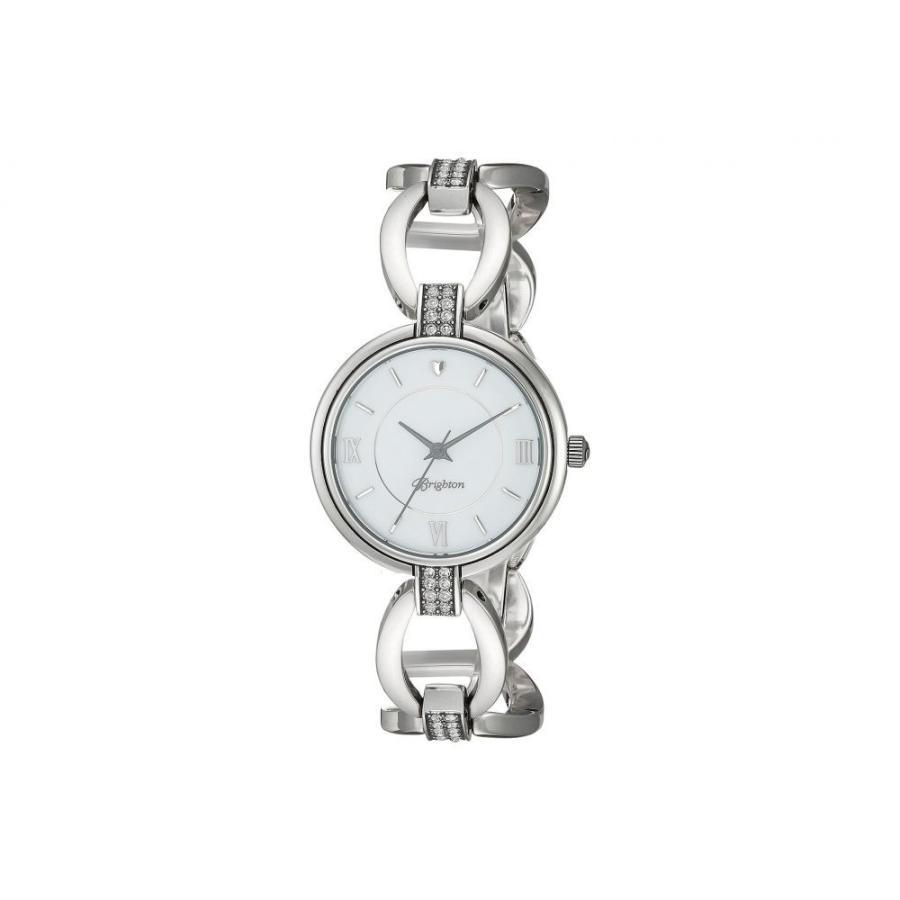宅配便配送 ブライトン Brighton レディース 腕時計 Meridian Swing Timepiece Silver, フェイクグリーンのお店 mintcafe 3ca20fb7