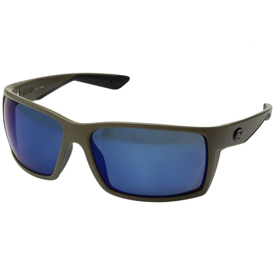 リアル コスタ Costa Reefton メンズ 580P メガネ・サングラス Reefton Moss/Blue コスタ Mirror 580P, 西浦青果:1193f7ff --- sonpurmela.online