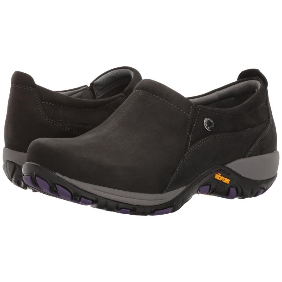 卸売 ダンスコ Dansko レディース スニーカー シューズ・靴 Patti Black Milled Nubuck, 石井町 1600fdb9
