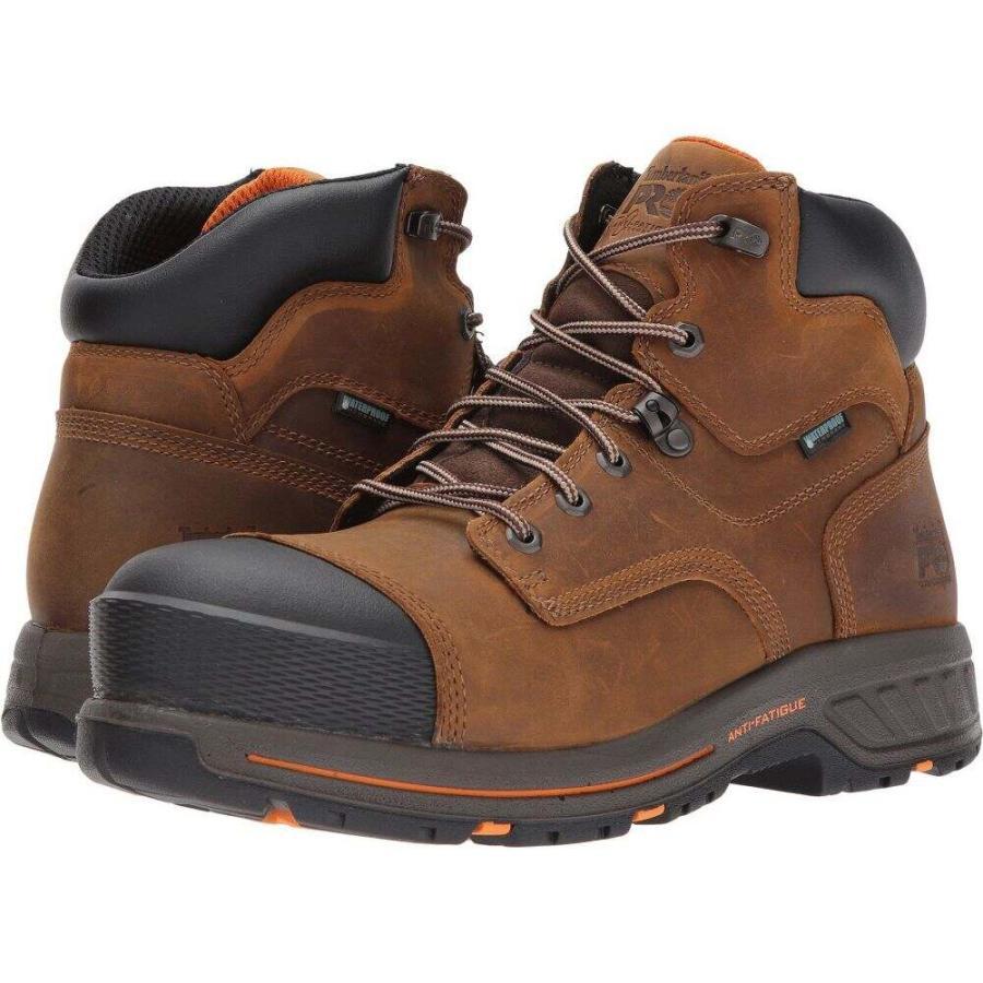 驚きの安さ ティンバーランド メンズ Grain Waterproof ブーツ シューズ・靴 Leather Helix 6 HD Composite Safety Toe Waterproof BR Distressed Brown Full Grain Leather, 札所0番:c43c6f66 --- help-center.online