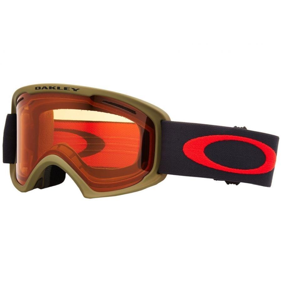 オークリー メンズ ゴーグル スキー・スノーボード O Frame 2.0 XL (A) Canteen Iron w/ Persimmon