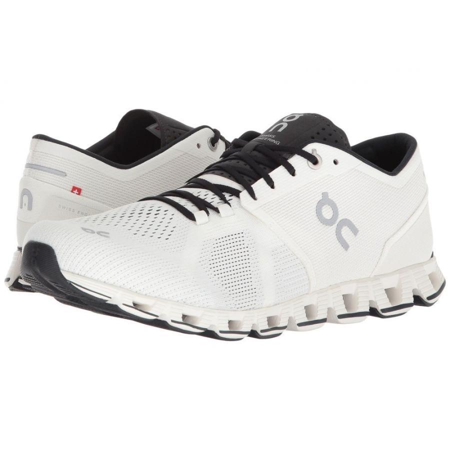 オン メンズ シューズ・靴 ランニング・ウォーキング Cloud X 白い/黒