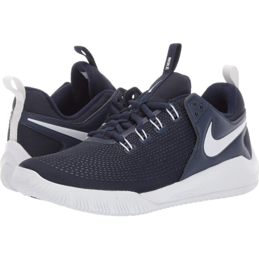 ナイキ Nike レディース シューズ・靴 バレーボール Zoom HyperAce 2 Midnight Navy/白い/Midnight Navy