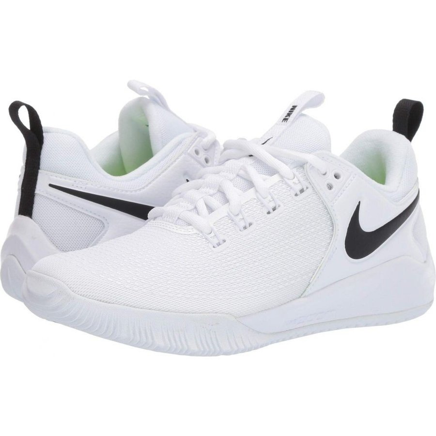 ナイキ Nike レディース シューズ・靴 バレーボール Zoom HyperAce 2 白い/黒