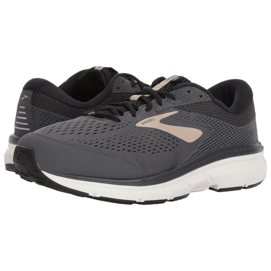 ブルックス メンズ シューズ・靴 ランニング・ウォーキング Dyad 10 グレー/黒/Tan