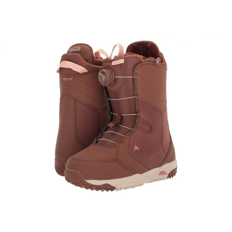 バートン Burton レディース スキー・スノーボード ブーツ シューズ・靴 Limelight Boa Snowboard Boot 褐色 Sugar
