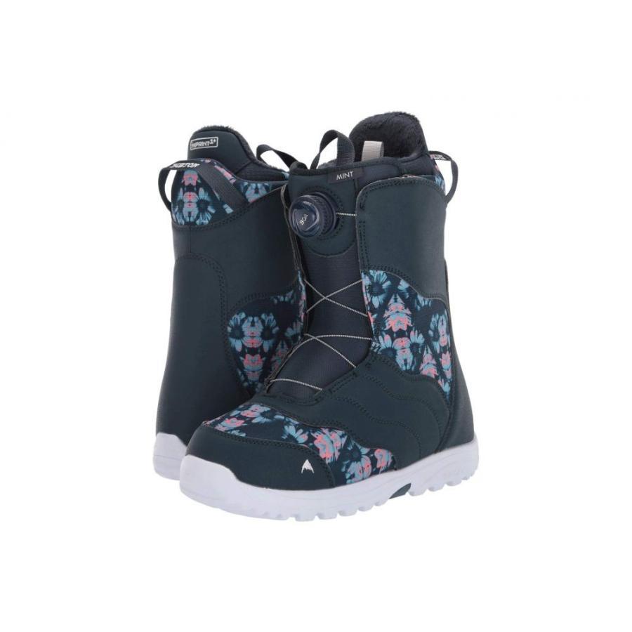 バートン Burton レディース スキー・スノーボード ブーツ シューズ・靴 Mint Boa Snowboard Boot Midnite 青/Multi