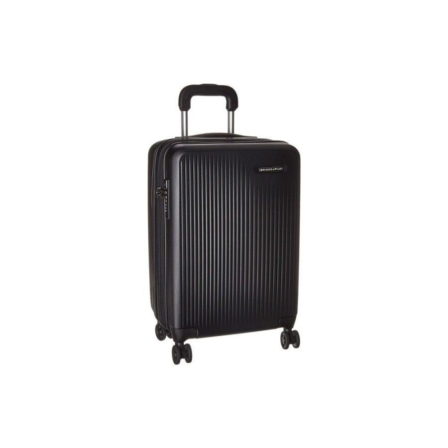 ブリッグスアンドライリー Briggs & Riley レディース スーツケース・キャリーバッグ バッグ Sympatico - Domestic Carry-On Expandable Spinner Black