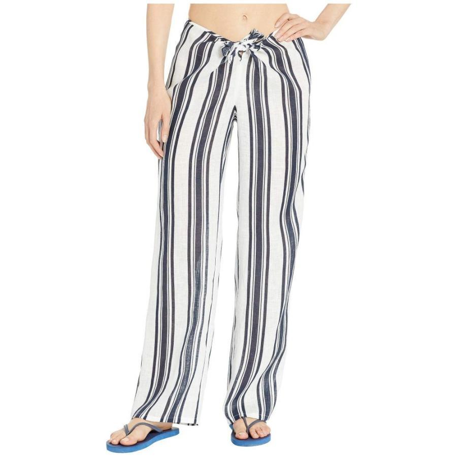 トリー バーチ Tory Burch Swimwear レディース ビーチウェア 水着・ビーチウェア Kellen Printed Beach Pants Cover-Up Bold Awning Stripe