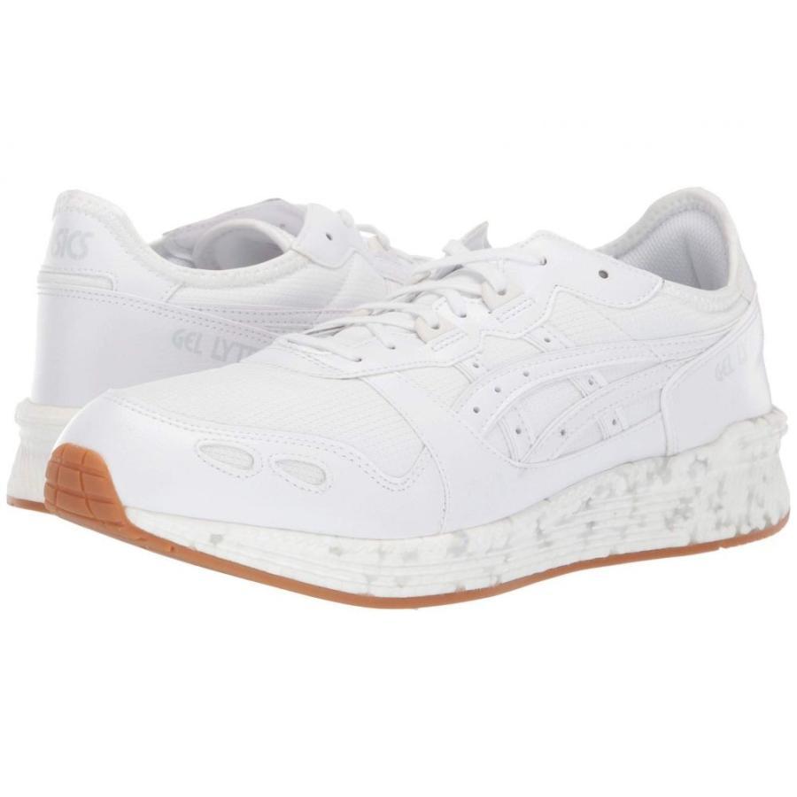 アシックス ASICS Tiger メンズ シューズ・靴 ランニング・ウォーキング Hypergel-Lyte 白い/白い