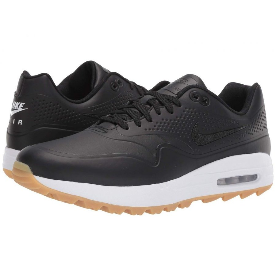 ナイキ Nike Golf メンズ シューズ・靴 ゴルフ Air Max 1G 黒/黒/Gum Light 褐色