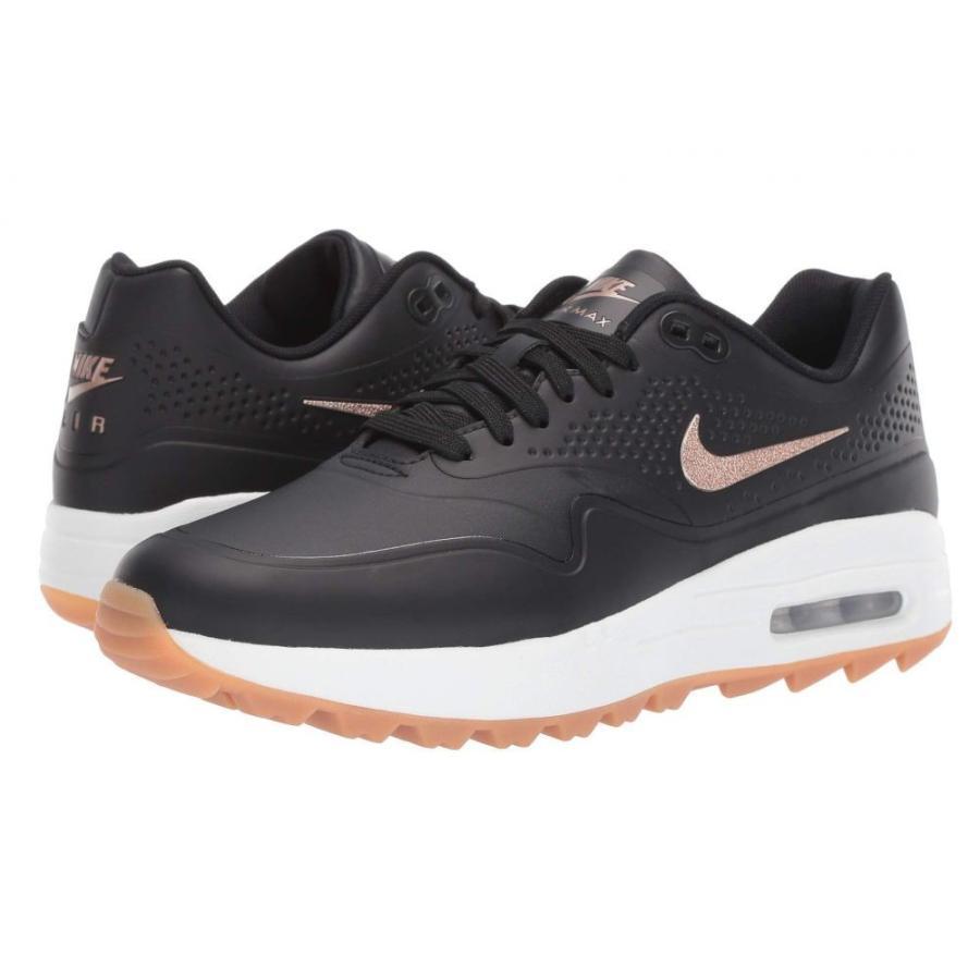 ナイキ Nike Golf レディース シューズ・靴 ゴルフ Air Max 1 G 黒/Metallic 赤 Bronze/Summit 白い