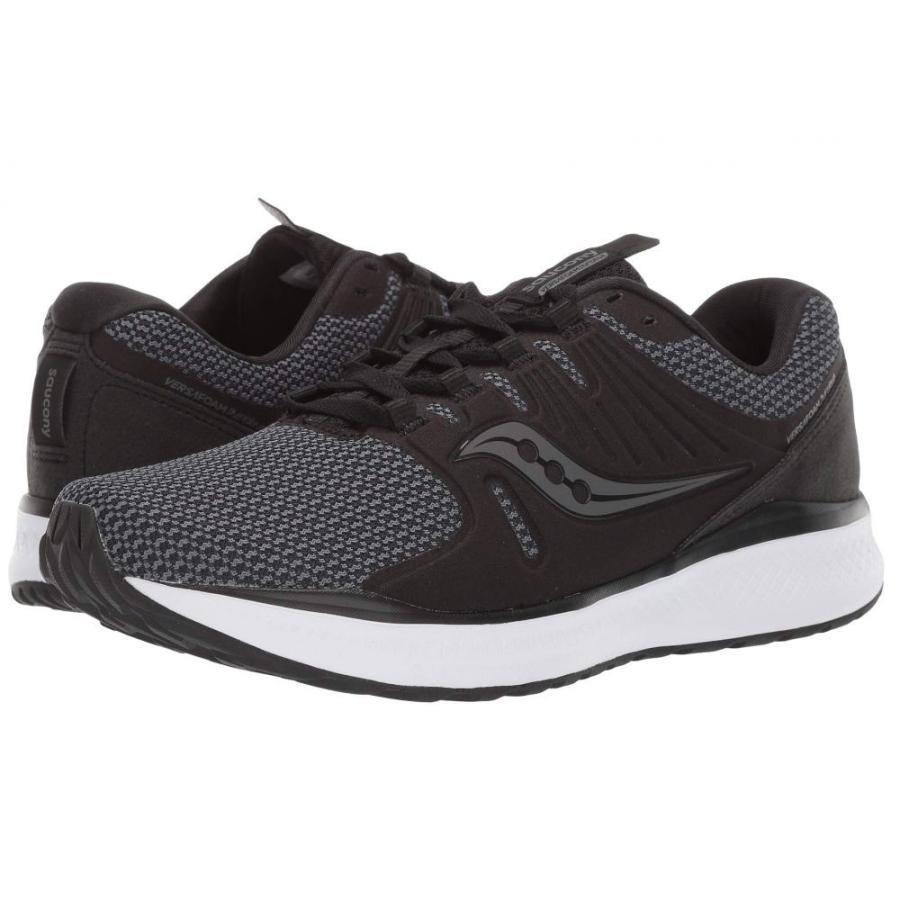 サッカニー Saucony メンズ シューズ・靴 ランニング・ウォーキング Versafoam Inferno 黒/Charcoal