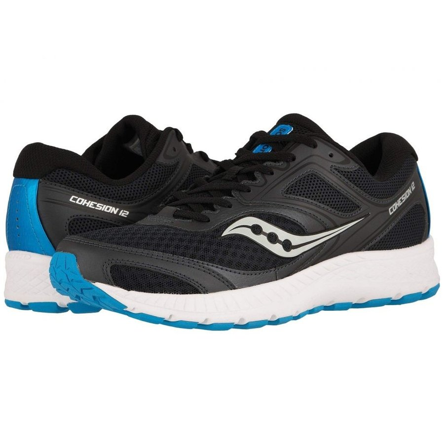 サッカニー Saucony メンズ シューズ・靴 ランニング・ウォーキング Versafoam Cohesion 12 黒/青