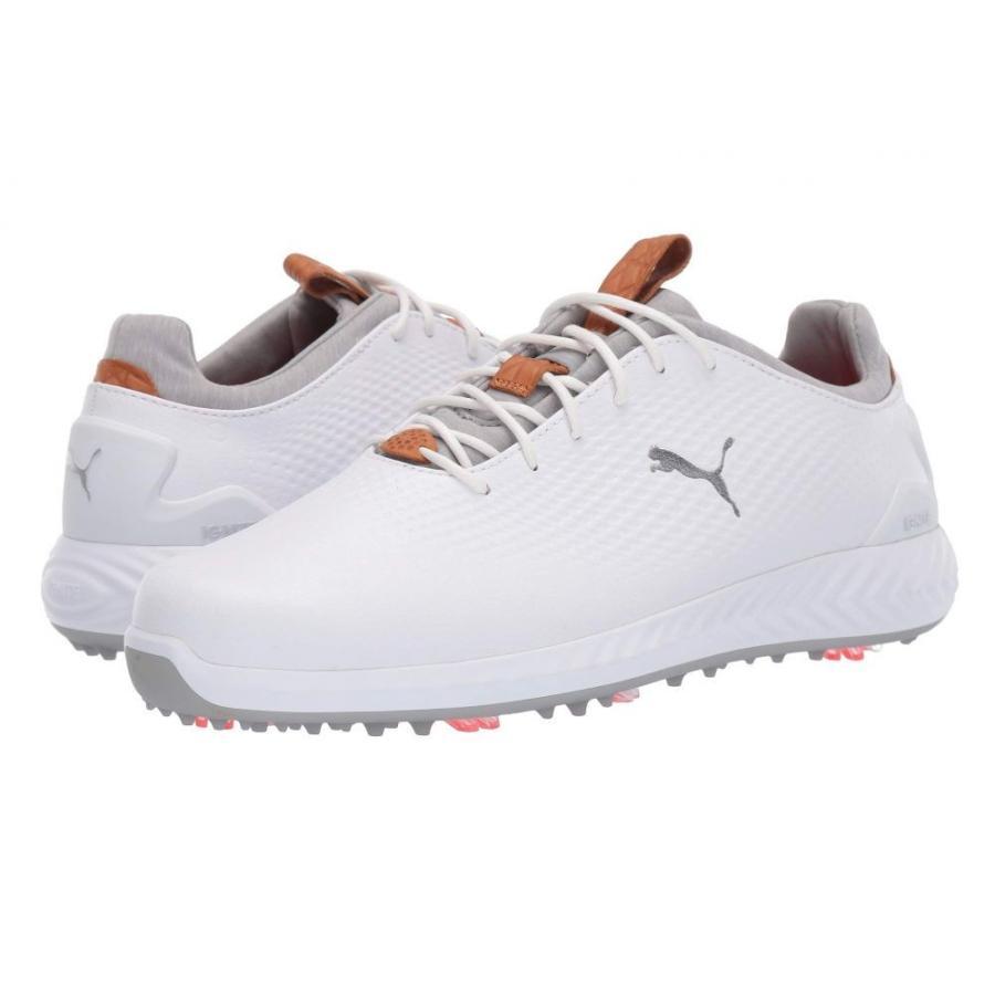 プーマ PUMA Golf メンズ シューズ・靴 ゴルフ Ignite Power Adapt Leather 白い/白い