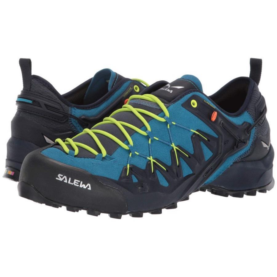 サレワ SALEWA メンズ シューズ・靴 ハイキング・登山 Wildfire Edge Premium Navy/Fluo Yellow