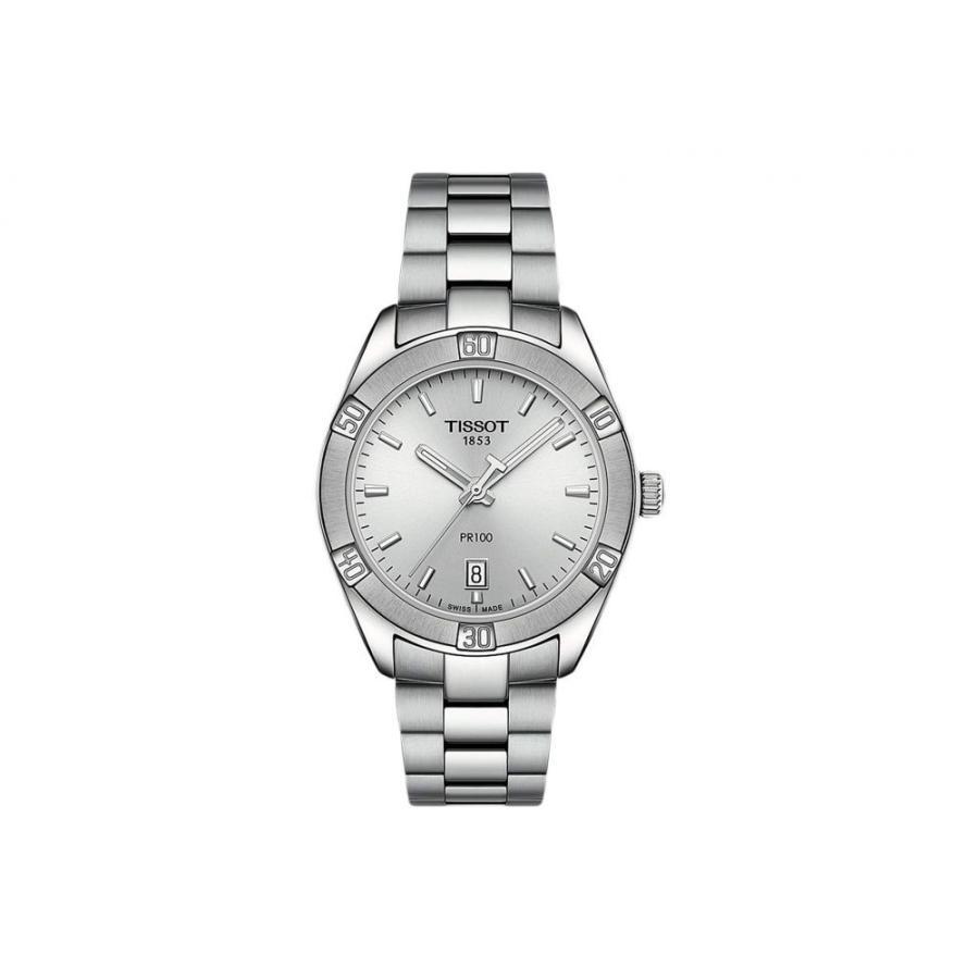 2019高い素材  ティソ Tissot レディース 腕時計 PR 100 Sport Chic - T1019101103100 Silver, タビラチョウ 3124200e