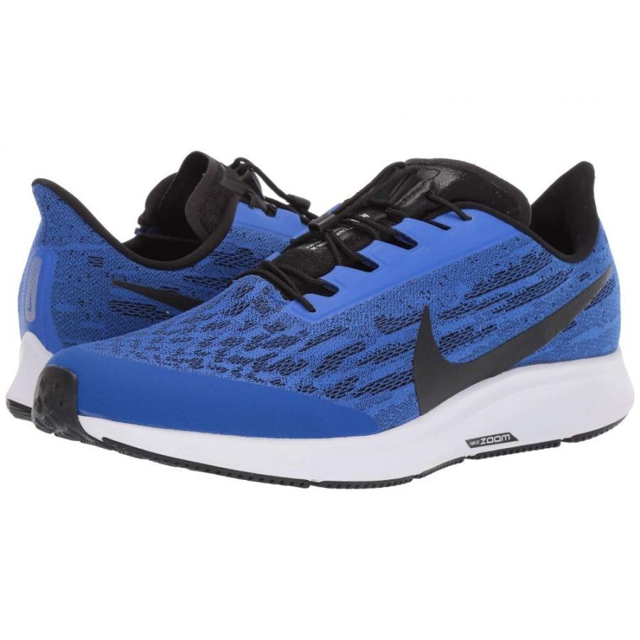 ナイキ Nike メンズ ランニング・ウォーキング エアズーム シューズ・靴 air zoom pegasus 36 flyease Racer 青/黒/青 hero/白い