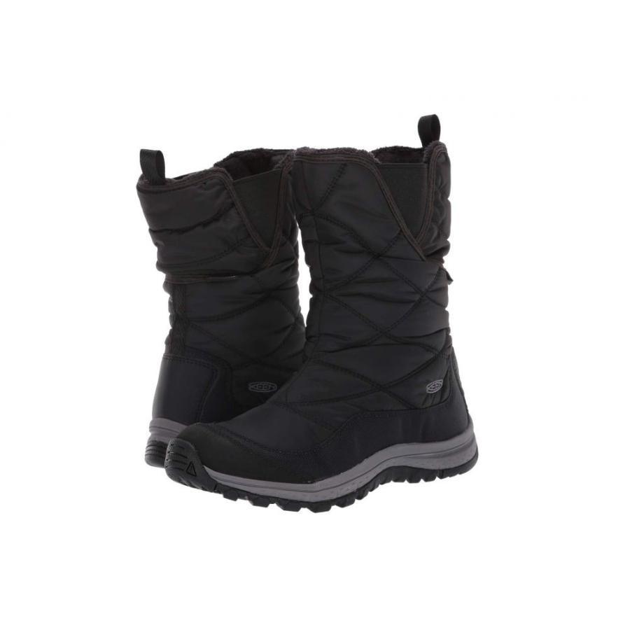 キーン Keen レディース スキー・スノーボード ブーツ シューズ・靴 Terradora Pull-On Waterproof Boot 黒/Raven