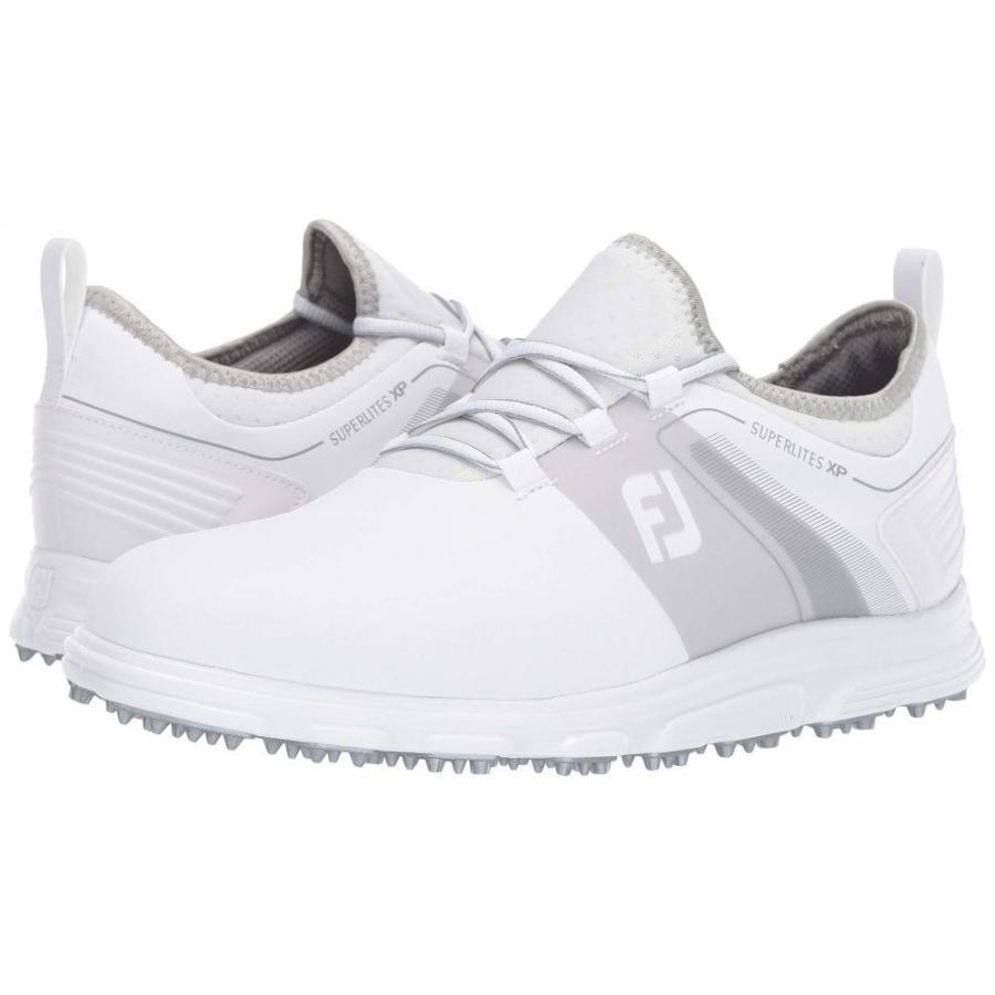 フットジョイ FootJoy メンズ シューズ・靴 ゴルフ Superlites XP Spikeless White/Grey