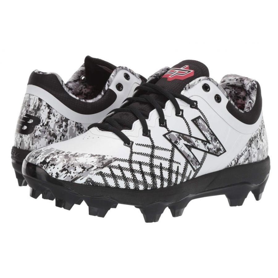 ニューバランス New Balance メンズ シューズ・靴 野球 4040v5 TPU Pedroia Camo 白い