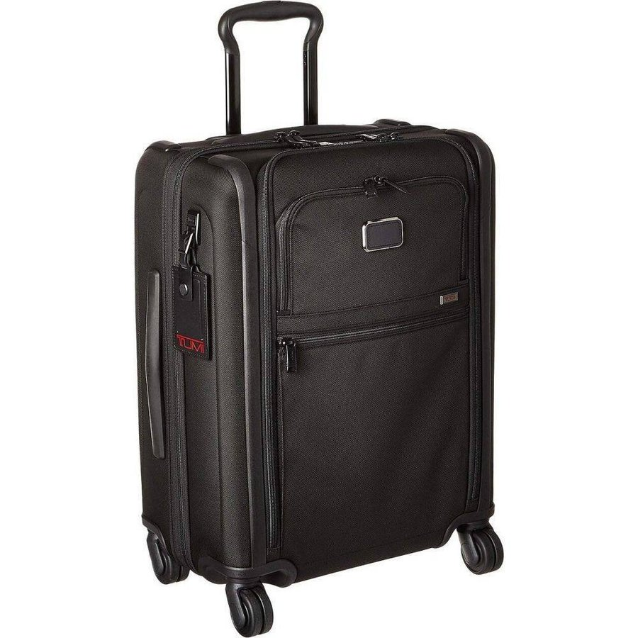 トゥミ Tumi レディース スーツケース・キャリーバッグ バッグ Alpha 3 Continental Expandable 4 Wheeled Carry-On Black