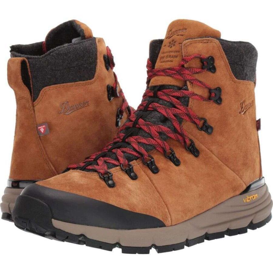 ダナー Danner メンズ ハイキング・登山 シューズ・靴 7' arctic 600 side-zip 200g 褐色/赤