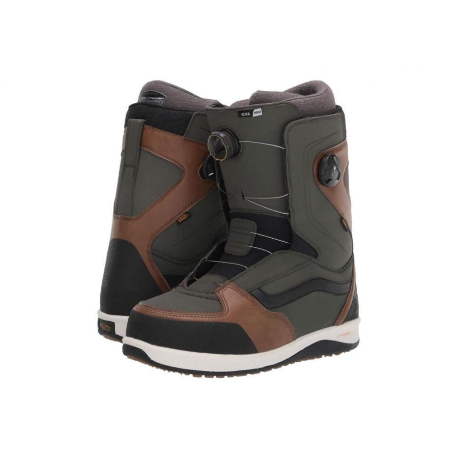 ヴァンズ Vans メンズ スキー・スノーボード シューズ・靴 aura pro '20 Green/Brown