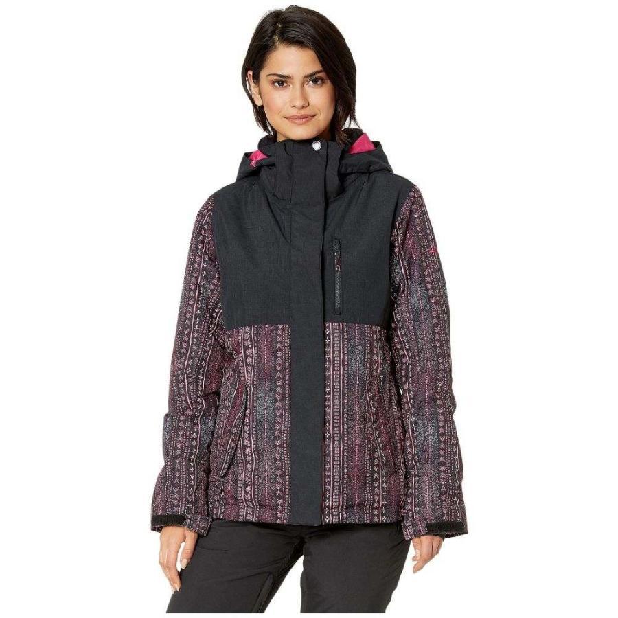 【まとめ買い】 ロキシー Roxy レディース スキー・スノーボード ジャケット アウター Jetty Block Snow Jacket True Black/Don't Be Shy, ボンスポーツ d06fe865