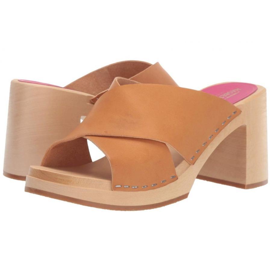 【着後レビューで 送料無料】 スウェディッシュ ハズビーンズ Swedish Hasbeens レディース ヒール シューズ・靴 Anette Nature, BELLE MONDE 12492598