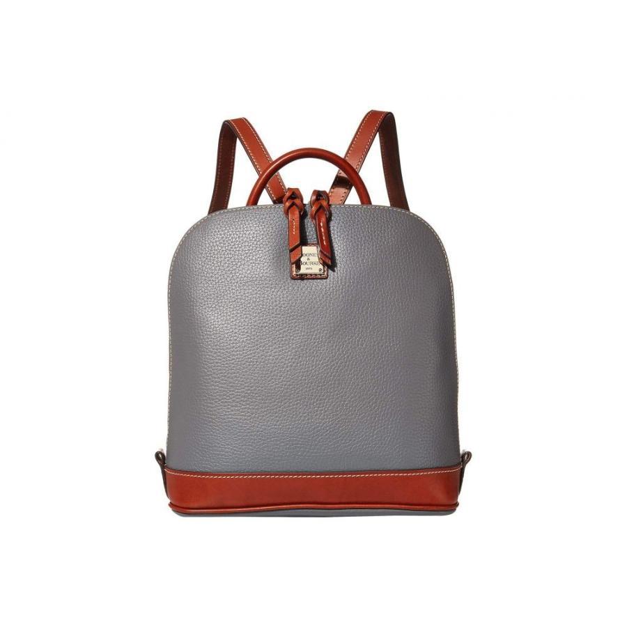 魅力的な価格 ドゥーニー&バーク Dooney & Bourke & レディース バックパック・リュック Slate/Tan Dooney バッグ Pebble Zip Pod Backpack Slate/Tan Trim, 布団とパジャマ「ふとんハウス」:bf233a5c --- graanic.com