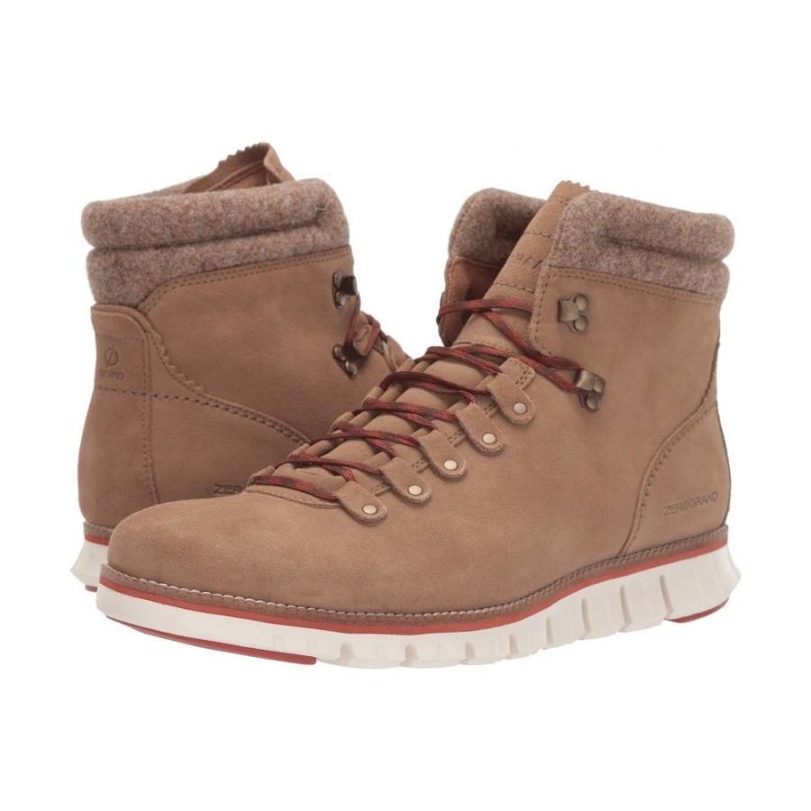 コールハーン Cole Haan メンズ ハイキング・登山 シューズ・靴 zerogrand hiker wp Waterproof Transient Suede/Wool/Ivory/Potters Clay