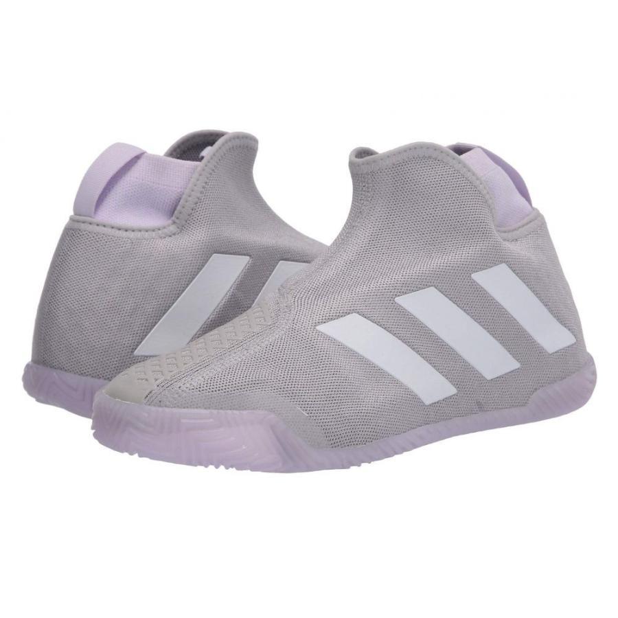 暮らし健康ネット館 アディダス adidas レディース テニス シューズ・靴 Stycon Grey Two/Footwear White/Purple Tint, royme a105168f