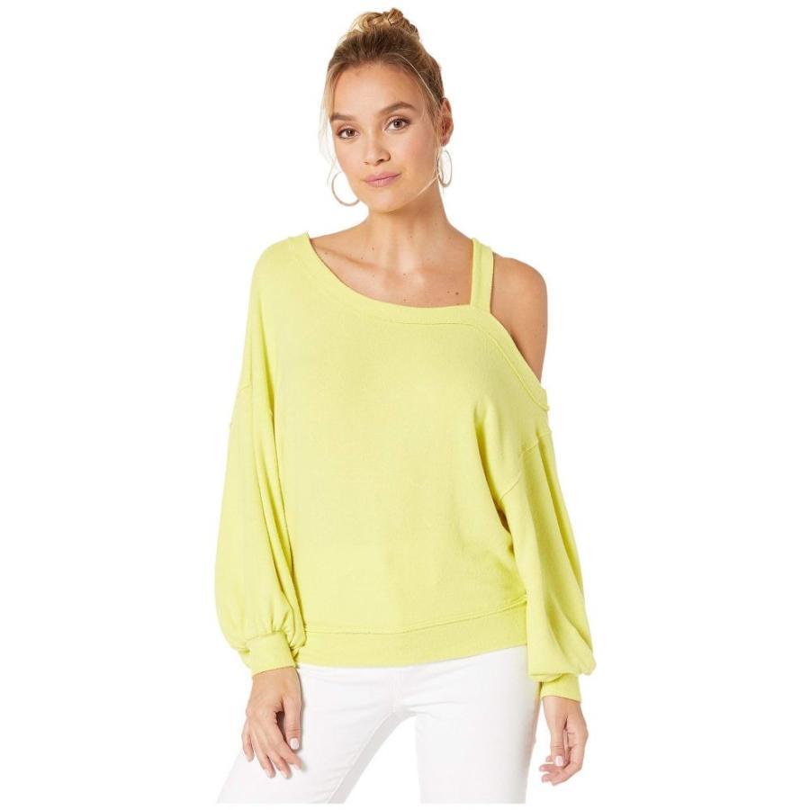 激安通販 フリーピープル Free People レディース Tシャツ People トップス Flaunt It トップス T-Shirt Free Yellow, アントデザインストア:375bbf68 --- sonpurmela.online