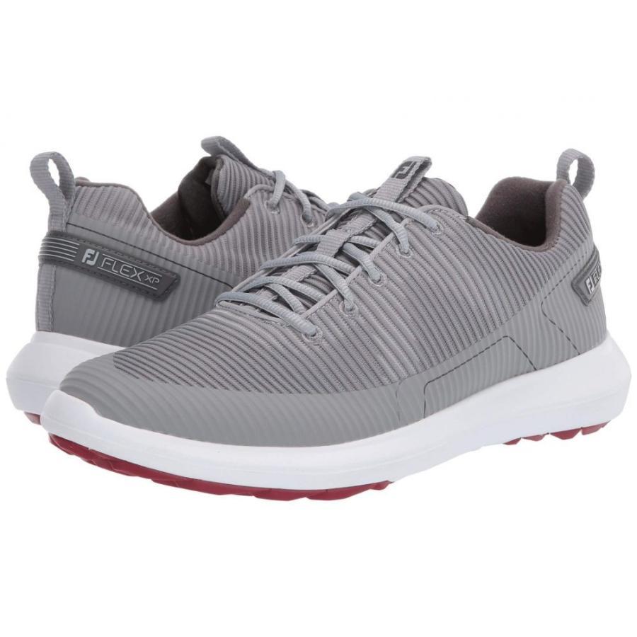ラウンド  フットジョイ フットジョイ FootJoy メンズ ゴルフ シューズ・靴 Flex メンズ XP ゴルフ Grey, MORE Goods Market:8a72fa13 --- airmodconsu.dominiotemporario.com