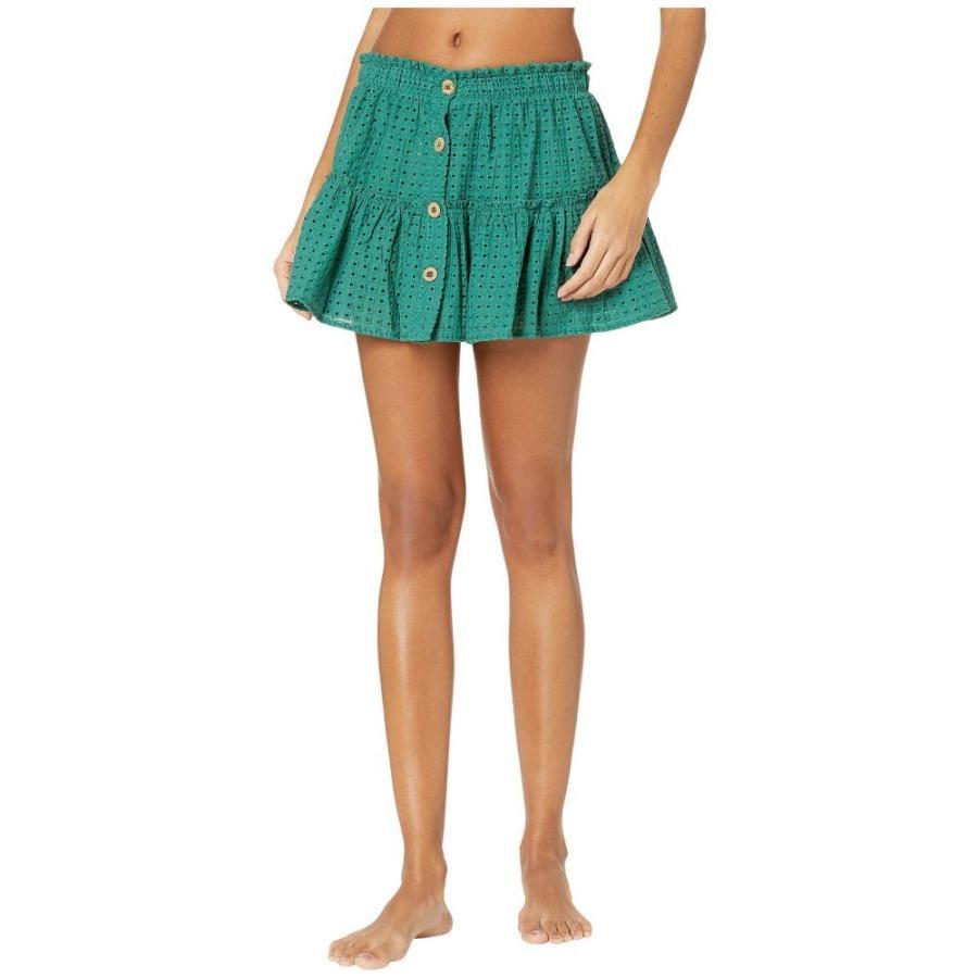 エバージェイ Eberjey レディース ビーチウェア スカート 水着・ビーチウェア Portola Nellie Skirt Cover-Up Palm