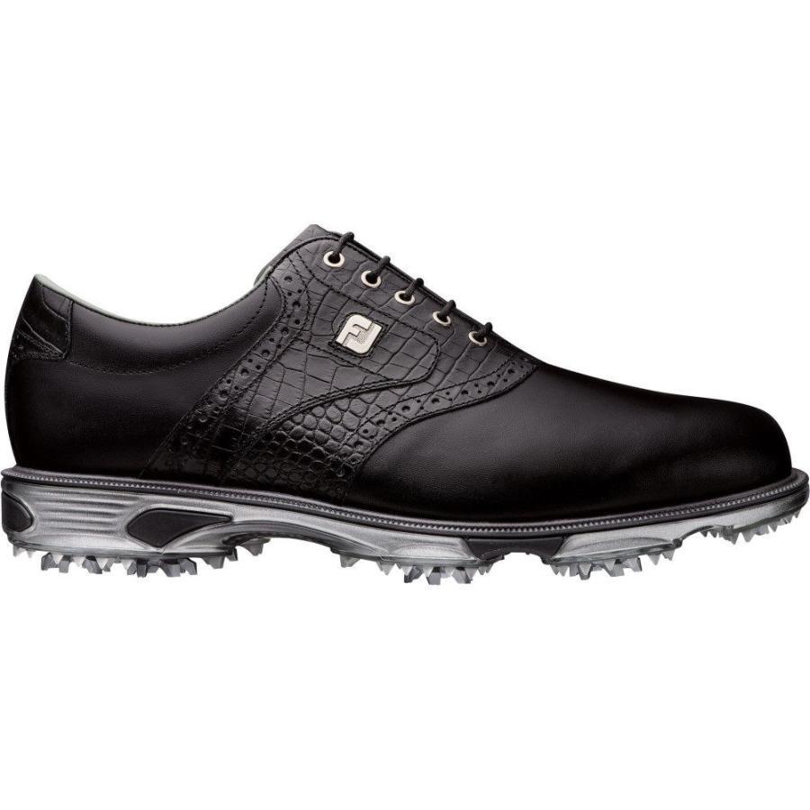 品質保証 【残り1点!】【サイズ:9-M】フットジョイ FootJoy メンズ ゴルフ シューズ・靴 DryJoys Tour Saddle Golf Shoes Black, ナイススタイル fea0275a