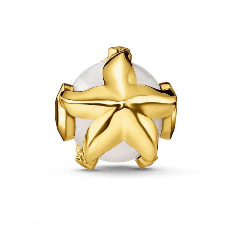 【希望者のみラッピング無料】 トーマスサボ Thomas Sabo レディース Bead ジュエリー・アクセサリー Yellow Gold White Pearl Thomas Starfish Karma Bead White, ミツエムラ:8a4f4f6e --- levelprosales.com