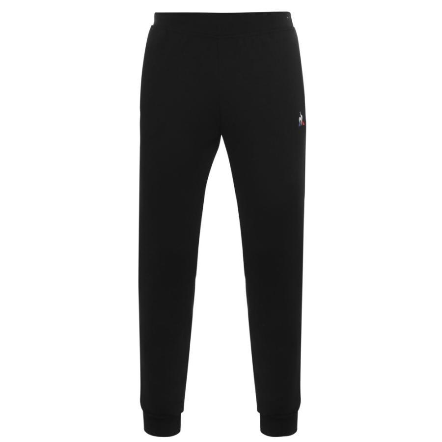 【メール便無料】 ルコックスポルティフ Le Coq Sportif メンズ ランニング・ウォーキング テーパードパンツ ボトムス・パンツ Sportif Tapered Jogging Pants Black, あーきんどう宝石 100a1d1f