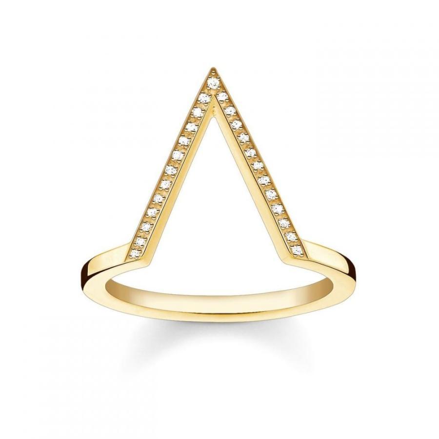 新発売の トーマスサボ Thomas diamond gold Sabo レディース 指輪・リング ジュエリー・アクセサリー Sabo Triangle diamond gold stacking ring Metallic, 進之助の日本焼酎紀行:8952055d --- airmodconsu.dominiotemporario.com
