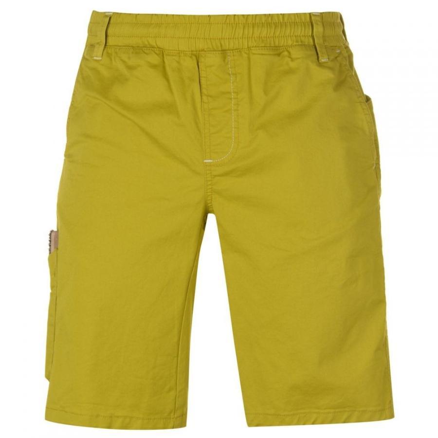 正規 Chillaz メンズ ランニング・ウォーキング ショートパンツ ボトムス・パンツ Neo Climbing Shorts Yellow, 西川ストアONLINE 0e4ead6b