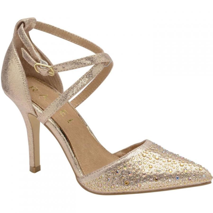新作人気 ラヴェル Ravel レディース ヒール ピンヒール シューズ・靴 Rainsville Stiletto Heeled Shoes Rose Gold, 【オープニング 大放出セール】 b69d2b4f
