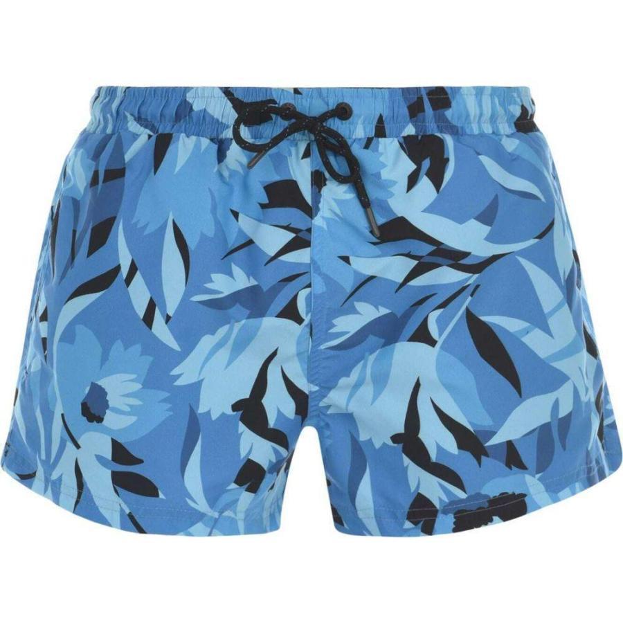ヒューゴ ボス Boss Bodywear メンズ 海パン 水着・ビーチウェア Hugo Barreley Swim Shorts Blue