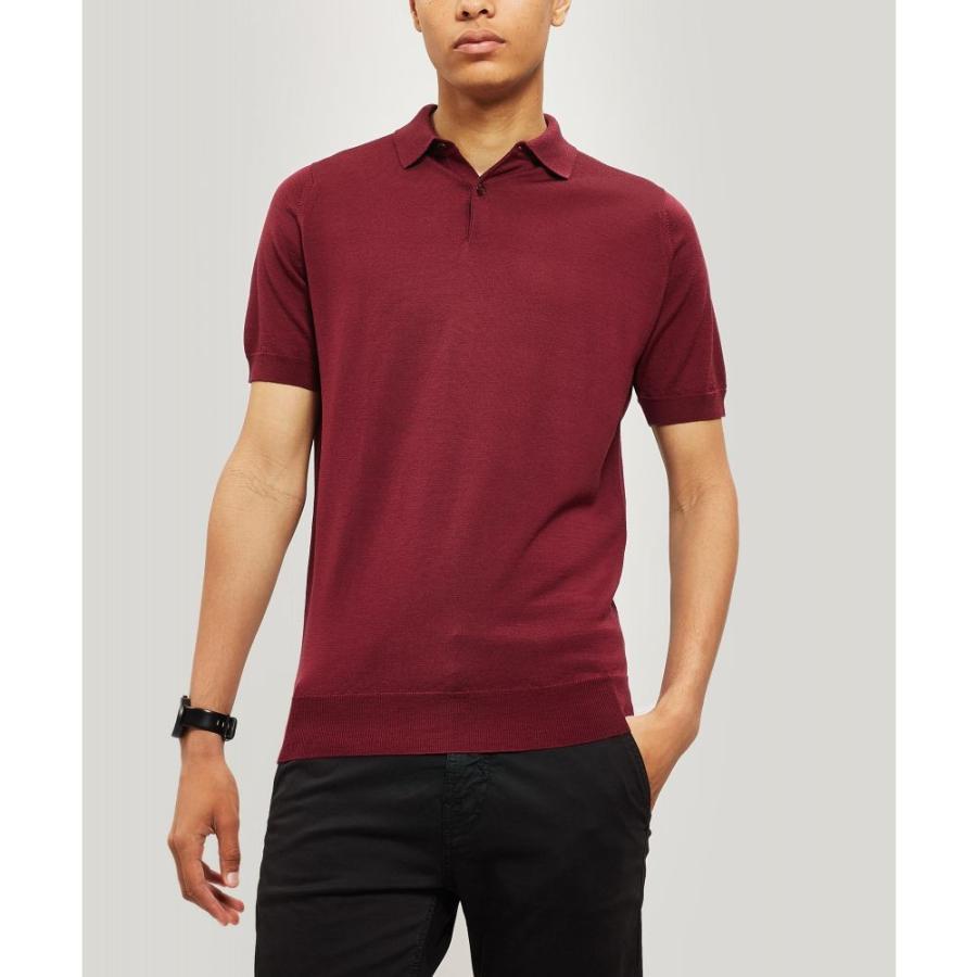 大人気新品 ジョンスメドレー Polo-Shirt John Merino Smedley Wool メンズ ポロシャツ トップス Payton Merino Wool Polo-Shirt Bordeaux, マツノヤママチ:6713daf5 --- sonpurmela.online